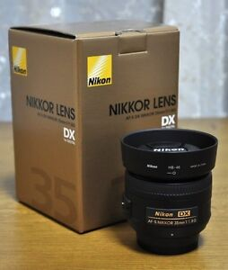 Nikon 35mm 1.8f barely used St Marys Penrith Area Preview