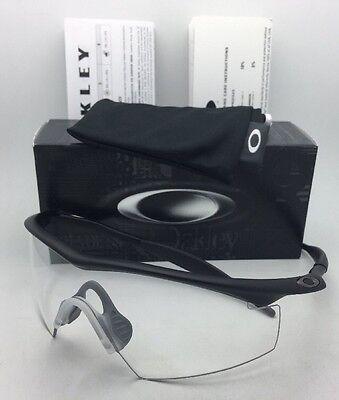 Neu Oakley BALLISTIC M-FRAME Sicherheit Brille 11-161 Schwarz W / Klar Ansi