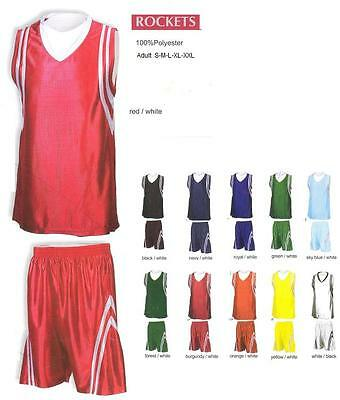 16 Basketball Team Shirt Jersey Uniform CEN#2112 Wholesale $22/kit Save $240