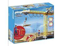 Playmobil remote control crane