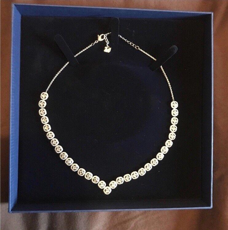 ca754b56e Swarovski crystal angelic square necklace | in Caversham, Berkshire ...