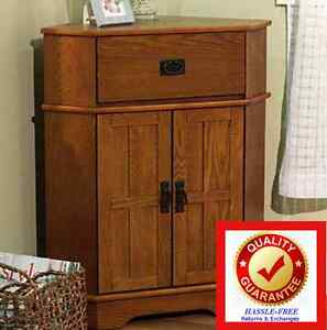 corner storage cabinet solid wood mission furniture rustic oak finish