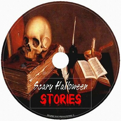 SCARY HALLOWEEN STORIES 1 Audio CD Handpicked Tales of Fright,Terror & Horror!! (Audio Halloween Stories)