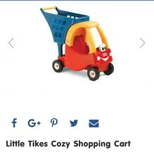 Little tikes cozy coupe shopping cart Cardiff Lake Macquarie Area Preview
