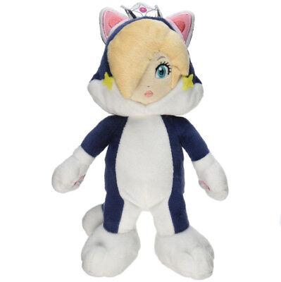 Super Mario Bros 3D World Katze Prinzessin Peach Rosalina Plüsch Spielzeug Puppe ()
