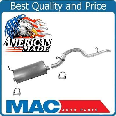 for 04 12 Colorado Muffler With Ridged All Steel Tail Pipe Pipe System Made USA