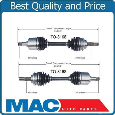 New CV Axle Shaft-New Front (2) L & R TO-8168 Fits For 07-14 FJ 05-14 Tacoma ()