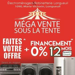 Méga vente *FAITES VOTRE OFFRE*!  + 0% Financement sur 12 mois !