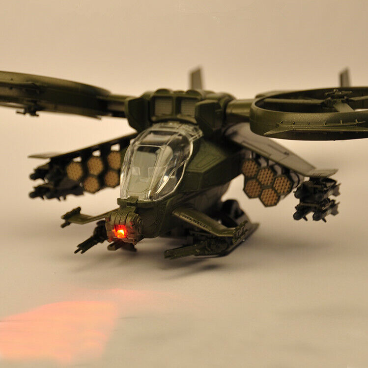 1:48 Avatar Scorpion Gunship Helicopter Airplane Simulated Military Model Toys