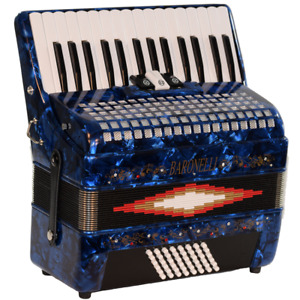 Accordions - We sell Brand New Baronelli Series Squeeze box