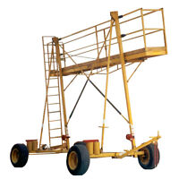 Mobile wagon scaffold for rent