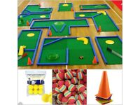 Crazy/Mini Golf & Garden Games Hire For Weddings & Fayres & Partys & Events & Corporate Events