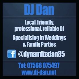 Party DJ for hire, Mobile Disco, Giant light up Love Letters, Southend, Rochford, Braintree Essex