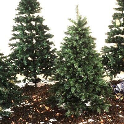 Navidad Decoración Árbol de Navidad Abetos Abeto + Soportes Abetos 150cm