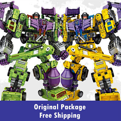 NBK Transformers Devastator Boy Toy Oversize Action Figure w/ Original Package](Transformers Boy)