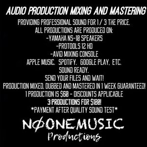 Professional Audio Mixing & Mastering