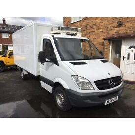 Mercedes Sprinter 313 CDI LWB Chassis Cab Refrigerated Box Van