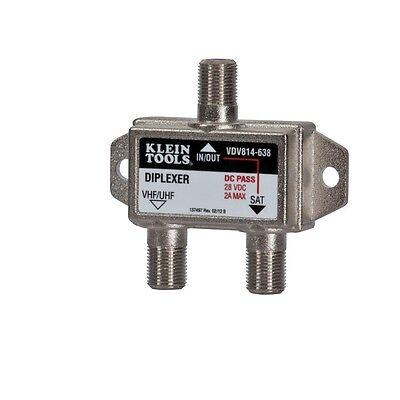 Klein Tools VDV814-638 Satellite/TV Diplexer - 5 MHz-2.3 GHz