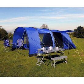 EUROHIKE Large Tent - Hampton (6 Person) RRP £450