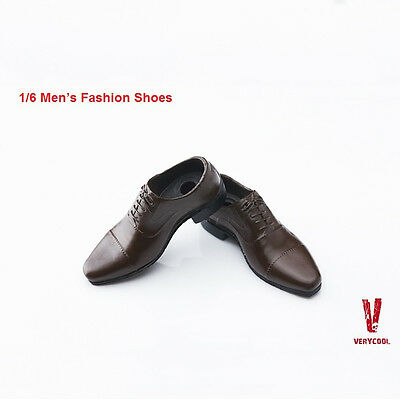 VERYCOOL VC M3005 B Brown 1/6 Men's Fashion Shoes