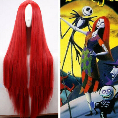 Fantastic Four Inhumans Medusa Cosplay Kostüm Costume Perücke wig Rot Red Lang (Medusa Kostüm Perücke)