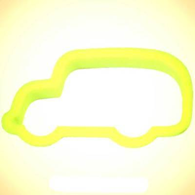 School Bus Cookie Cutter 4.5 in PC0314 - By CookieCutter.Com - USA Made School Bus Cookie Cutter