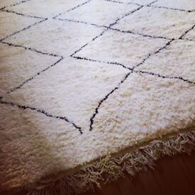Beni Ourain rug for sale - so stunning so thick!