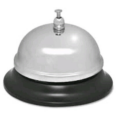 - Sparco Call Bell Nickel Plated, ChromedSteel - Silver, Black Color #1583