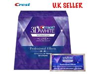 Crest 3D Teeth Whitening Strips Professional Effects
