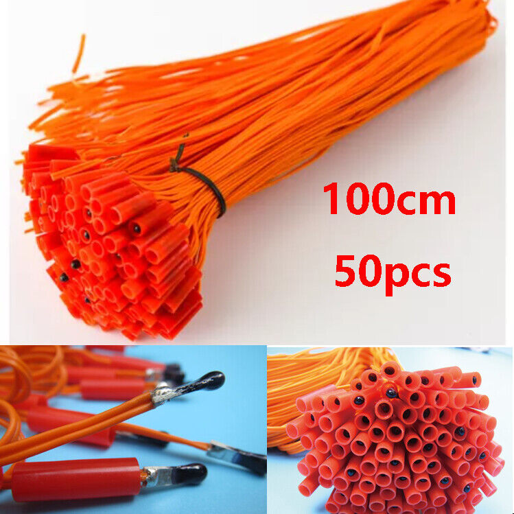 50pcs/lot 1M Electric Wire E Match Igniter for Fireworks Firing System