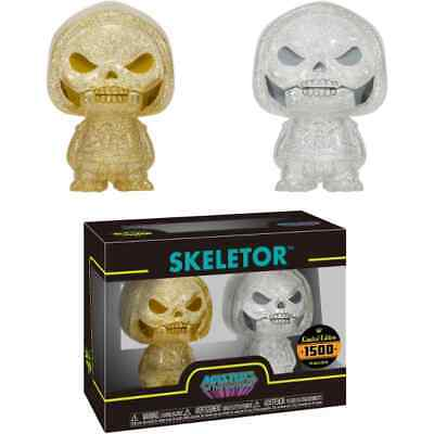 Funko Hikari - Masters of the Universe Figure - Skeletor (Gold & Silver)