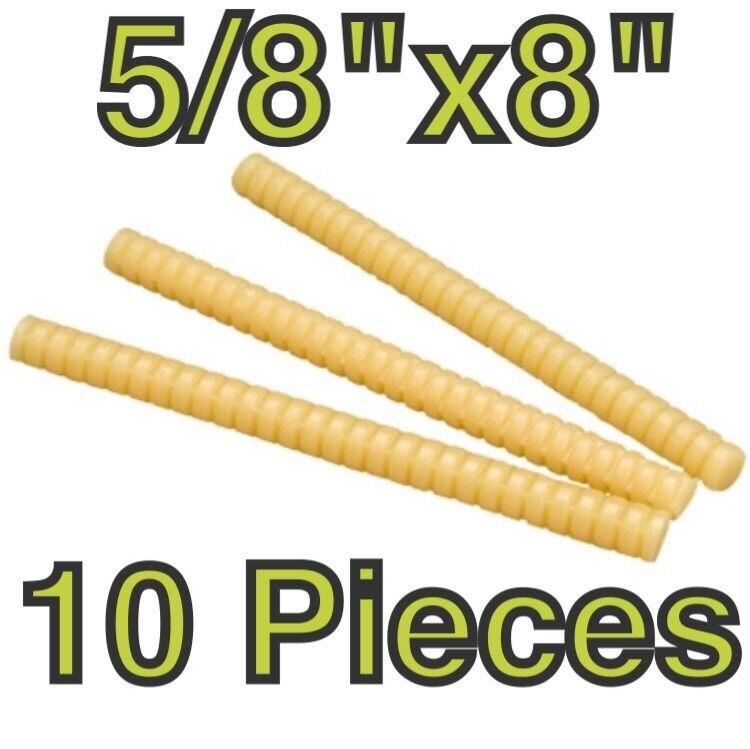 "(Qty 10) 3M Hot Melt Glue Sticks, Quick Set Packaging Adhesive, 5/8""X8"" 3792-Q"