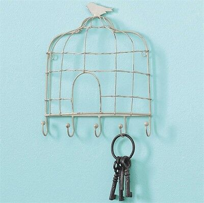 Birdcage Wire 5 Key Hook by Park Designs - Country Cottage Wall Hooks