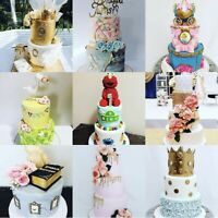 Custom birthday cakes, wedding cakes and much more