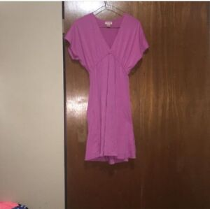 Pink dress/ beach cover up size xs pick up only