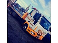 2004 iveco tilt and slide sleeper can spec recovery lorry 7.5 tonne