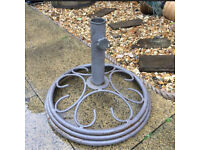 Heavy garden umbrella stand