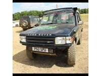 landrover discovery 300tdi with 2 inch lift and snorkel