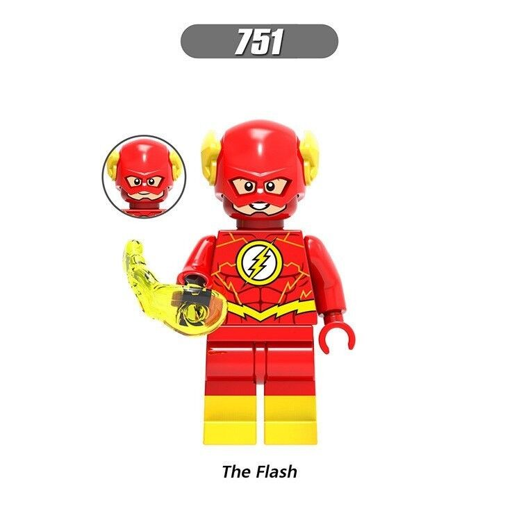 FLASH DC COMICS MINIFIGURE FIGURE USA SELLER NEW IN PACKAGE