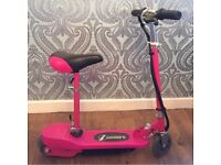 Pink Electric Scooter in good condition from ages