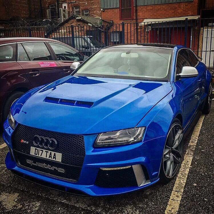 ONE OFF A KIND AUDI A5 / RS5 Full Custom Made Wide Arch
