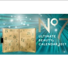 No7 ultimate beauty calender 2017