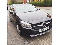 Mercedes Benz Spot Exec A class 180d Black, Leather Seats, sat nav, parking sensors, one owner