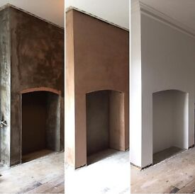 Plasterer expert at finishing and remove of artex
