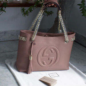 Gucci disco tote dusty pink BRAND NEW