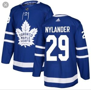 Authentic Adidas Nylander Home Large Jersey