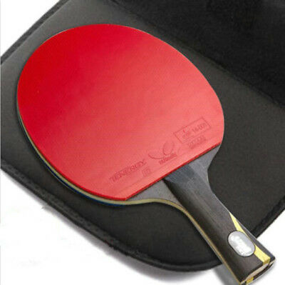 DOUBLE HAPPINESS HURRICANE WANG TABLE TENNIS RACKET PING PONG PADDLE LONG HANDLE