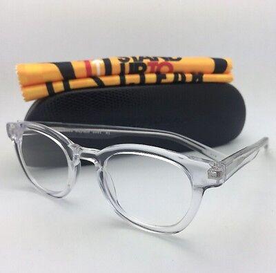 Readers EYE•BOBS Eyeglasses WAYLAID 2231 51 +1.50 Clear Frame w/ Spring Temple