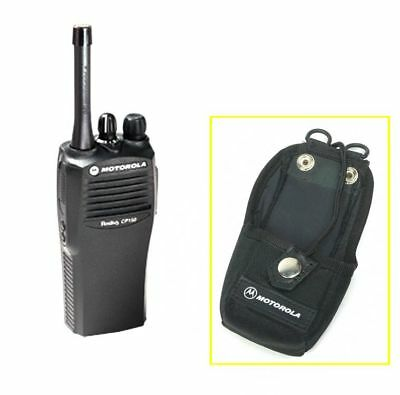 Motorola Nylon Case Holster Hln9701b For Radio Walkie Talkie Carrying W Belt Lo