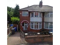 **3 Bedroom House to LET - Salford, M6**